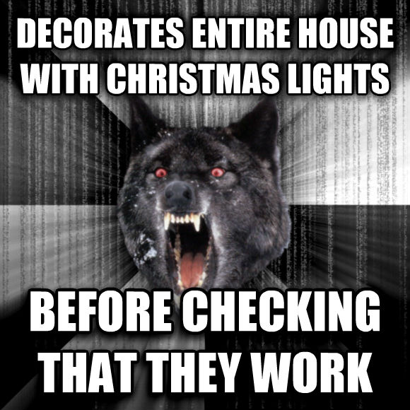Insanity Wolf Christmas Images & Pictures - Becuo