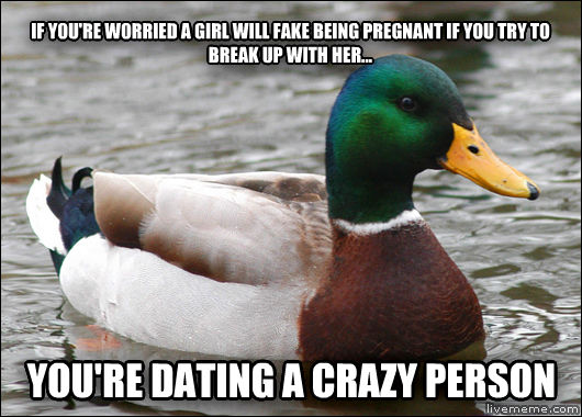 Are you dating a crazy person