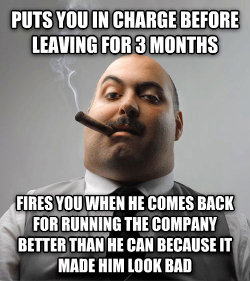 Bad guy boss laid this one on me today adviceanimals - Why you shouldnt take the trash out at night ...