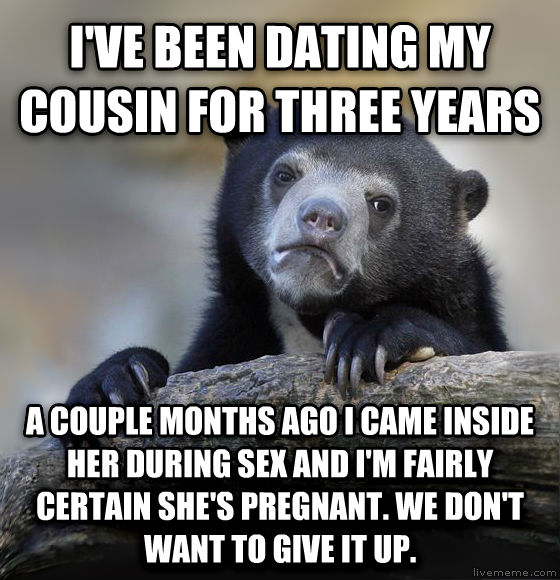 dating my cousin