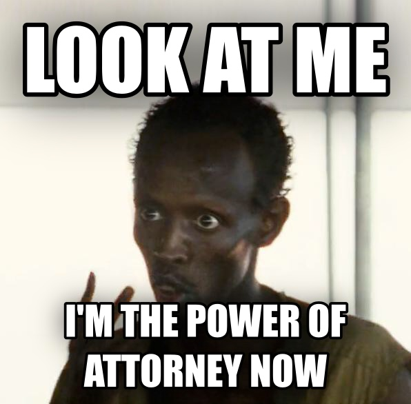 Me Power Of Attorney